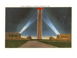 Liberty Memorial at Night, Kansas City, Missouri Posters