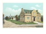 Town Building, Bethlehem, New Hampshire Prints