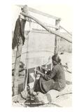 Navajo Rug Weaver Prints