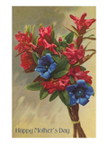 Happy Mothers Day, Rhododendrons Art