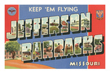 Jefferson Barracks, Missouri Prints