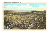 Stockyards, Kansas City, Missouri Posters
