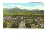 Livingston, Montana Print