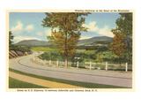 Highway 74, Asheville, North Carolina Print
