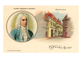 George Friederich Handel and Birthplace Prints