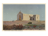 Church, Sandia Pueblo, New Mexico Prints