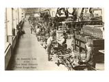 Assembly Line, Ford Factory, Michigan Plakat