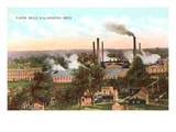 Paper Mills, Kalamazoo, Michigan Prints
