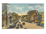 Congress Street, Portsmouth, New Hampshire Prints