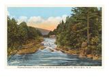 Pemegewasset Falls, White Mountains, New Hampshire Prints