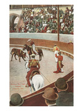 Bull Fight, Mexico Poster