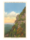 High Top, Blue Ridge Assembly Grounds, North Carolina Print