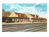 Union Depot, Billings, Montana Prints