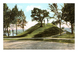 Indian Mounds, St. Paul, Minnesota Posters