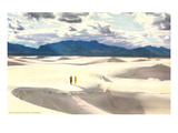 White Sands, New Mexico Kunstdrucke