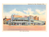 Greyhound Bus Station, Minneapolis, Minnesota Posters