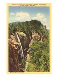 Hickory Nut Falls, Western North Carolina Art