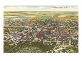 Aerial View, Fargo, North Dakota Prints