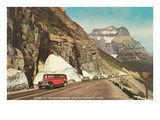 Going to the Sun Highway, Glacier Park, Montana Posters