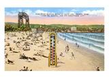 Beach, Duluth, Minnesota Poster