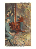 Inside a Copper Mine, Butte, Montana Prints