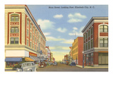 Main Street, Elizabeth City, North Carolina Prints