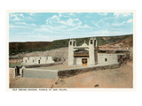 San Felipe Pueblo Church, New Mexico Prints