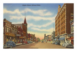 Eighth Street, Holland, Michigan Prints