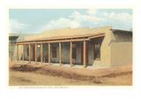 Kit Carson's House, Taos, New Mexico Prints