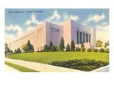 Joslyn Memorial, Omaha, Nebraska Print