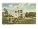 Hall of Waters, Excelsior Springs, Missouri Prints