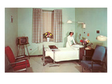 Hospital Room of the Fifties Posters