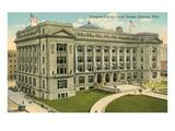 Douglas County Courthouse, Omaha, Nebraska Posters