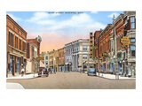 River Street, Manistee, Michigan Print