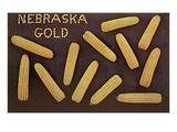 Nebraska Gold, Ears of Corn Prints