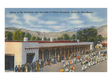 Procession, Palace of the Governors, Santa Fe, New Mexico Prints