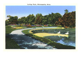 Loring Park, Minneapolis, Minnesota Prints