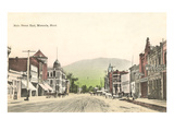 Main Street East, Missoula, Montana Kunstdrucke