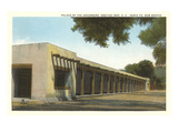 Palace of the Governors, Santa Fe, New Mexico Prints