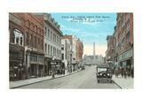 Patton Avenue, Asheville, North Carolina Prints