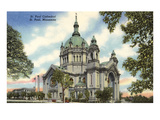 St. Paul Cathedral, St. Paul, Minnesota Poster