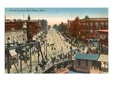 Huron Avenue, Port Hurson, Michigan Kunstdrucke