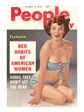 Men's Pulp Magazine Cover Print