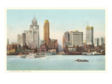 Waterfront, Detroit, Michigan Posters