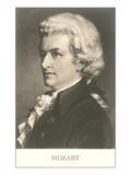 Portrait of Mozart Poster
