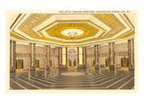 Interior, Municipal Auditorium, Kansas City, Missouri Prints