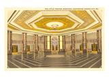 Interior, Municipal Auditorium, Kansas City, Missouri Prints