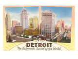 Detroit, Michigan, Automobile Capital of the World Prints