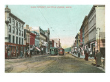 Main Street, Battle Creek, Michigan Posters