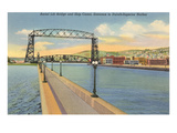 Aerial Lift Bridge, Duluth, Minnesota Posters